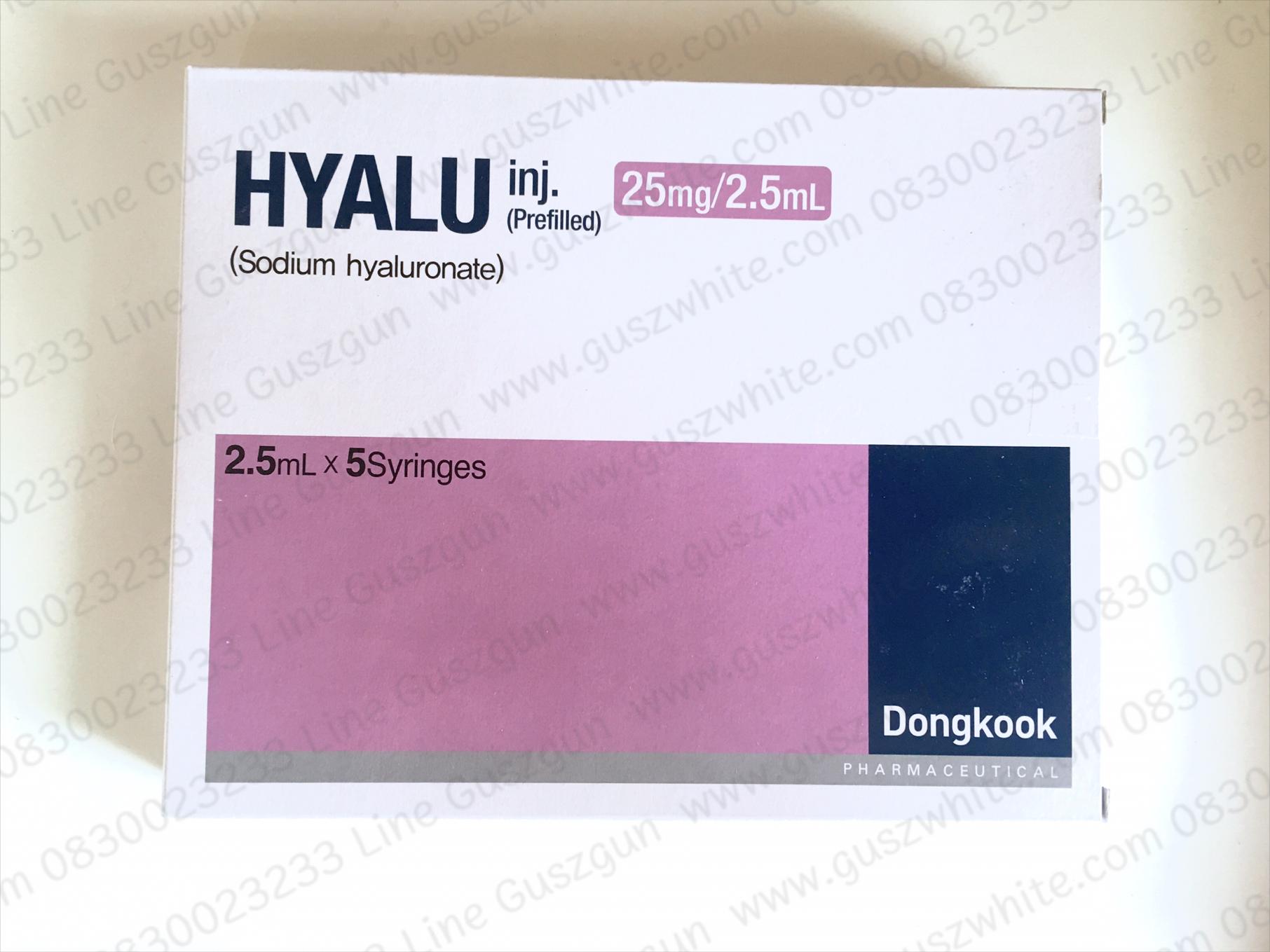 Hyalu inj. Prefilled (Sodium Hyaluronate) 25mg/2.5ml