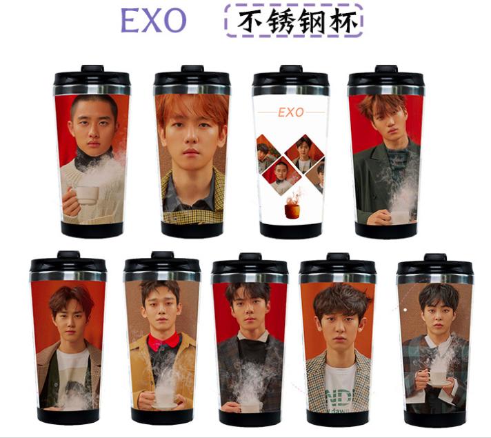 แก้วน้ำ #EXO UNIVERSE (ระบุลายที่ต้องการ)