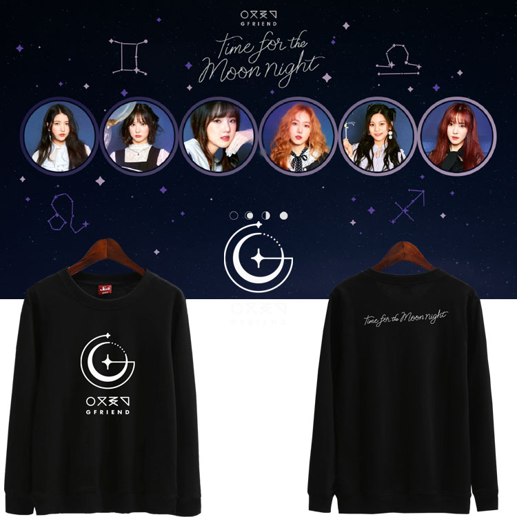 เสื้อแขนยาว (Sweater) GFRIEND - Time for the moon night