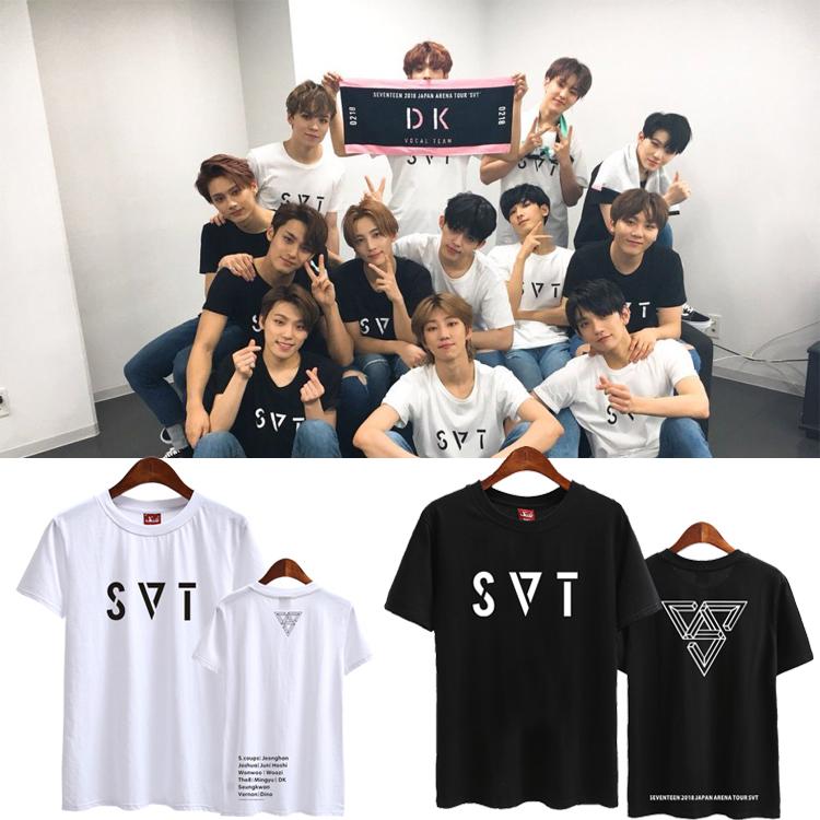 เสื้อยืด (T-Shirt) Seventeen 2018 Japan Arena SVT