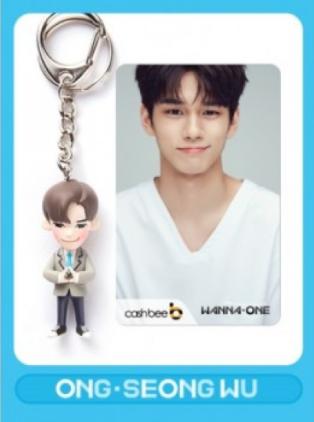 บัตร-ฟิกเกอร์ [#WANNAONE] CASHBEE T-MONEY & FIGURE KEYRING : Seongwoo