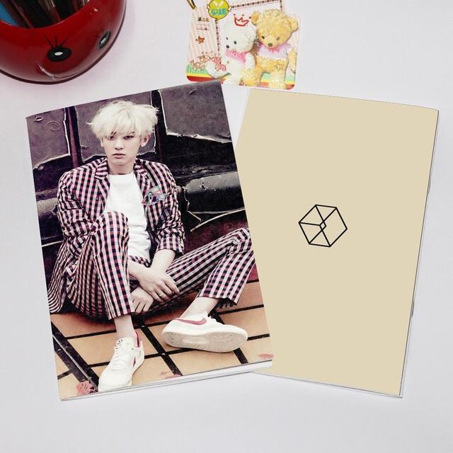 สมุด Exo Love me Right Chanyeol