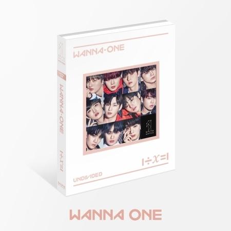 อัลบั้ม #WANNA ONE - Special Album [1÷χ=1 (UNDIVIDED) WANNA ONE VER.