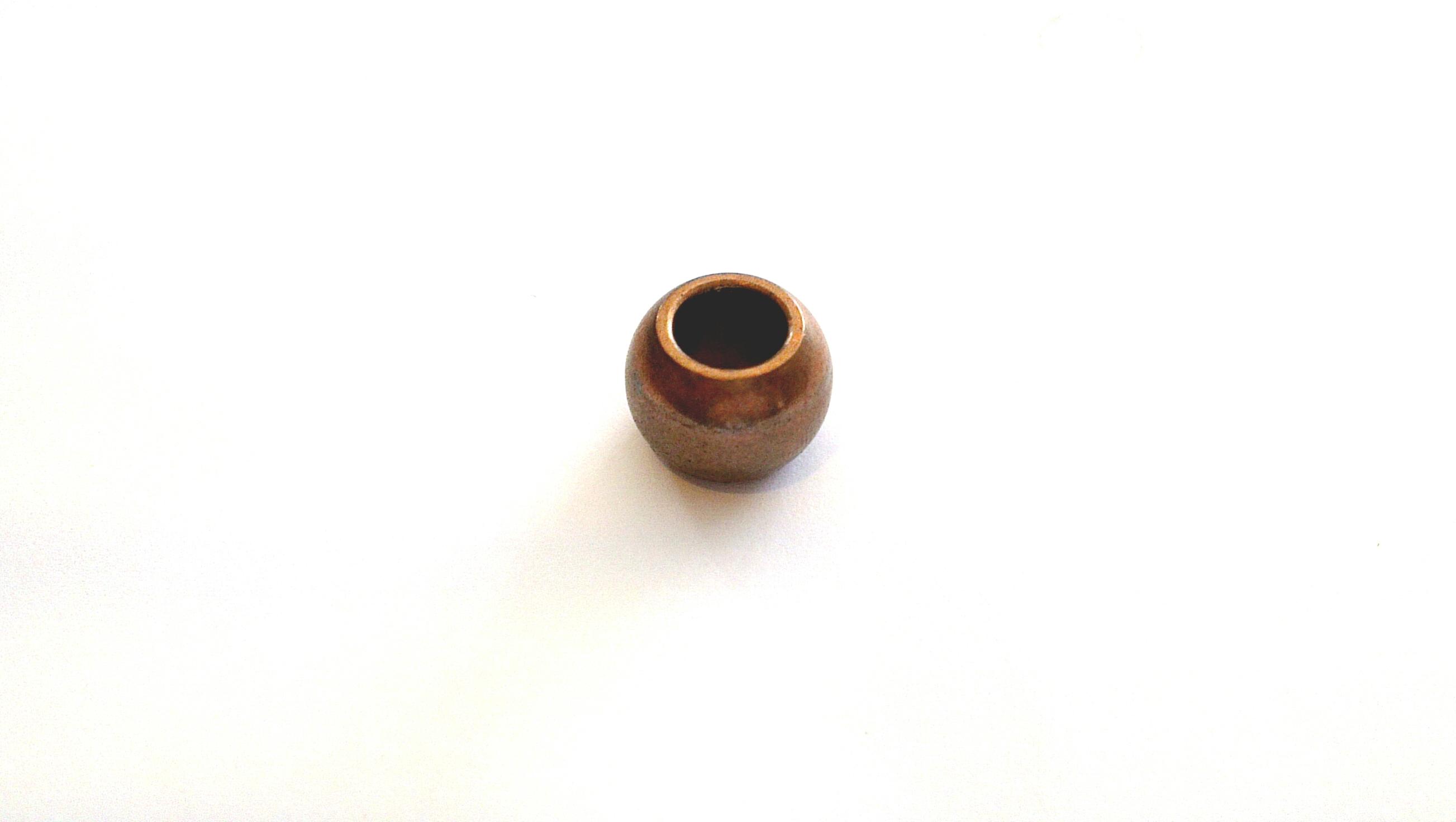 บูช พัดลม รูใน 8 มิล กลม-ไม่มีบ่า