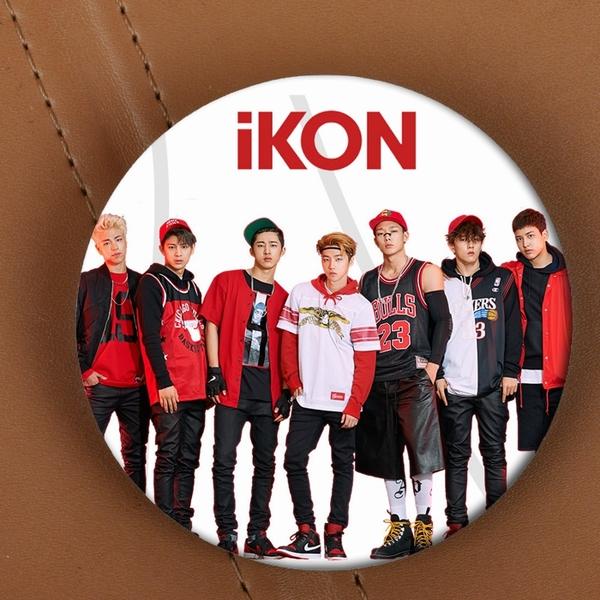 เข็มกลัด iKON