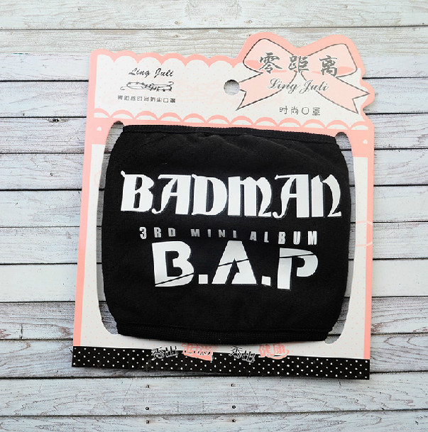 ผ้าปิดปาก B.A.P - BADMAN