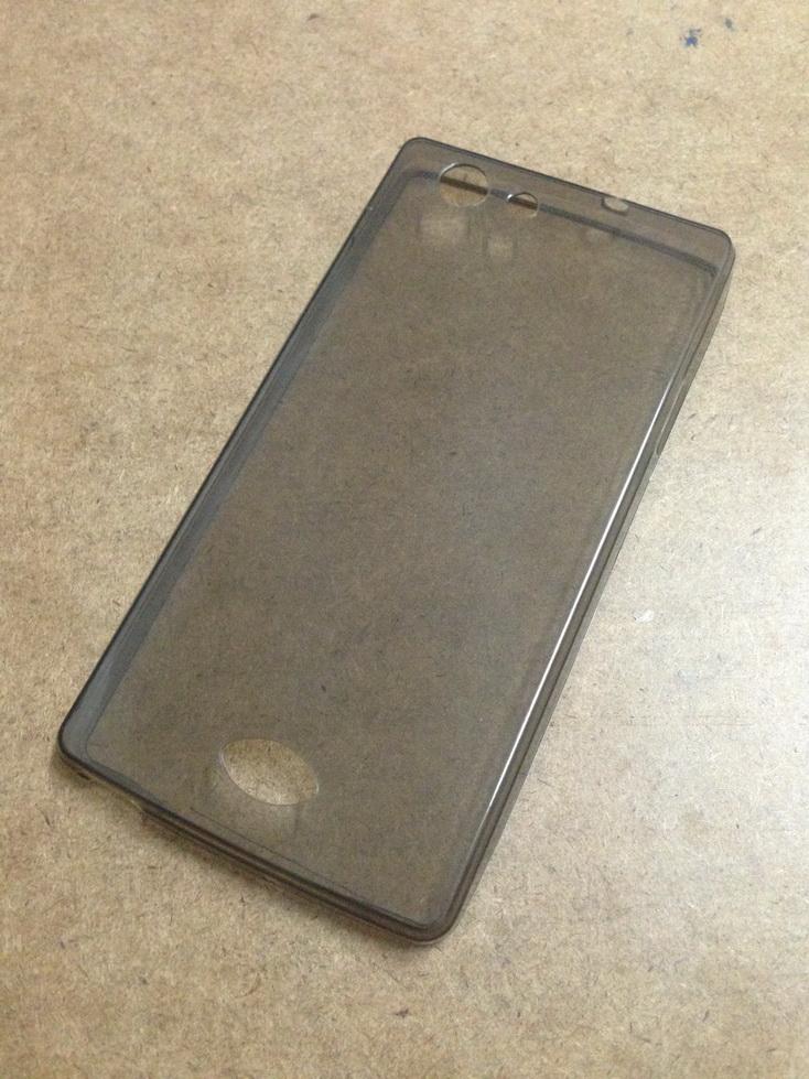 เคสนิ่มใส (หนา 0.3 mm) OPPO Neo 5s สีเทา
