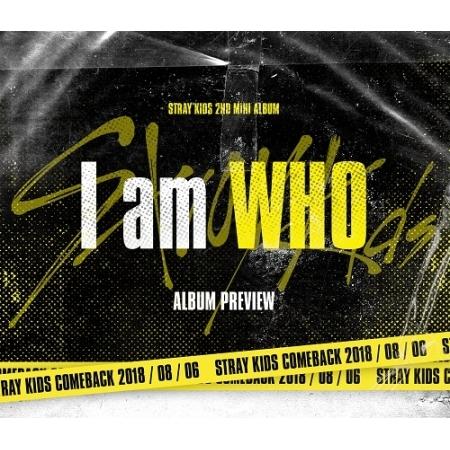 อัลบั้ม #Stray Kids - Mini Album Vol.2 [I am WHO] (Random Ver.)