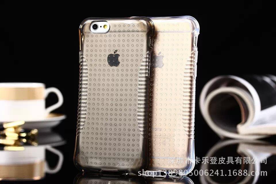 เคสซิลิโคนใสลายจุด ไอโฟน 6/6s plus 5.5 นิ้ว