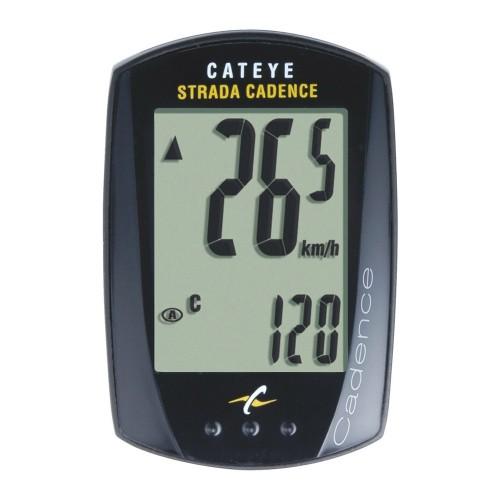 CAT EYE ไมล์ STRADA รุ่นวัดรอบขา CC-RD200, สีดำ(ได้เฉพาะไมล์)