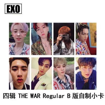 ชุดการ์ด #EXO THE WAR Regular B (แฟนเมด)