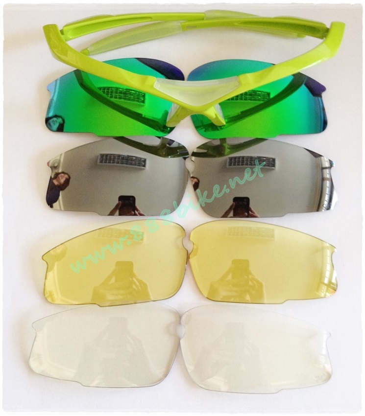 แว่น TOPEAK TS001+Polarized Cycling Sunglasses