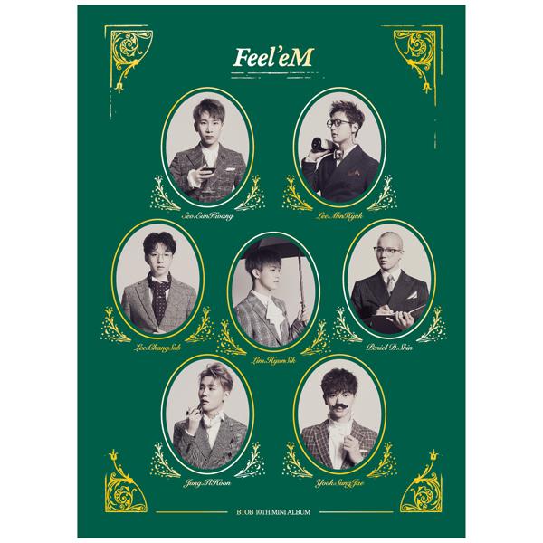 อัลบั้ม #BTOB - Mini Album Vol.10 [Feel'eM]