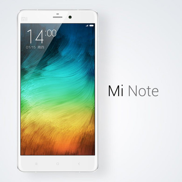 Xiaomi mi note Snapdragon801 จอ 5.7 นิ้ว RAM 3 / 64GB