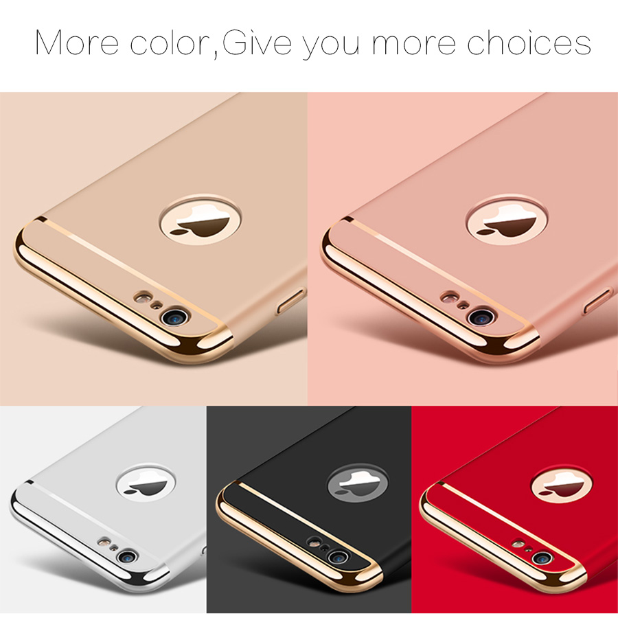 เคสไอโฟน 6plus/6splus 5.5 นิ้ว PC ประกบหัวท้าย(ใช้ภาพรุ่นอื่นแทน)