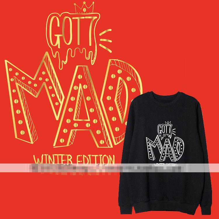 เสื้อแขนยาว (Sweater) GOT7 - MAD