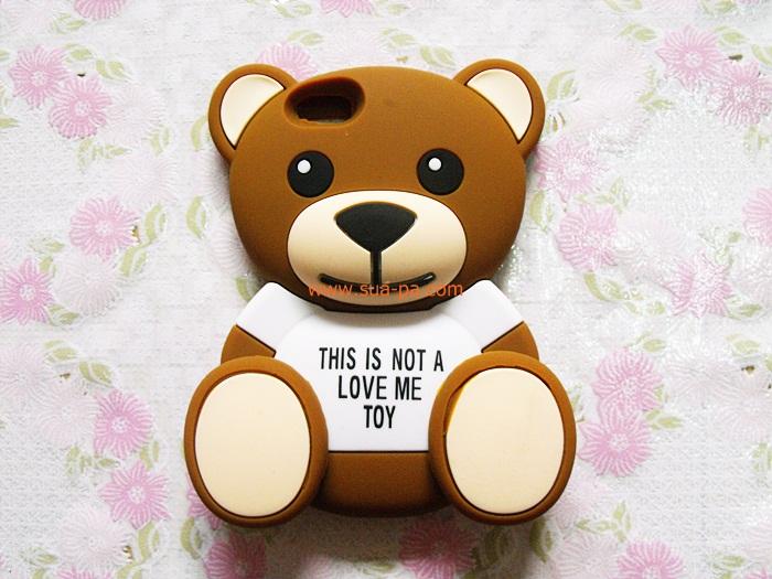 เคสหมี Teddy 3D ไอโฟน 5/5s