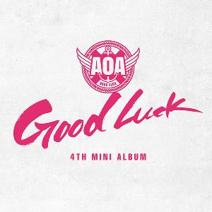 Poster + AOA - Mini Album Vol.4 [Good Luck] (WEEKEND Ver.)