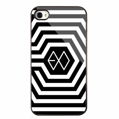 EXO เคส EXO Overdose iPhone4/4s สีดำ