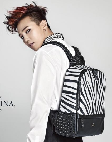 กระเป๋าเป้ม้าลาย J.estina แบบ G-Dragon