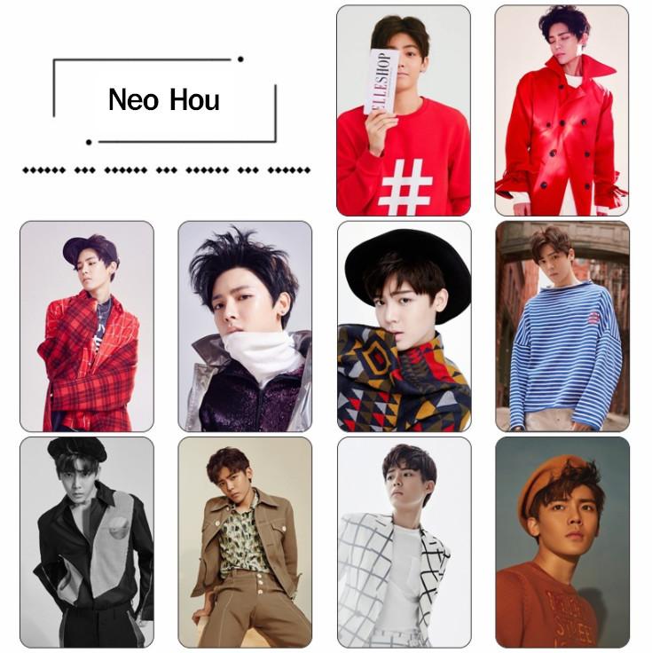 สติ๊กเกอร์การ์ด Neo Hou