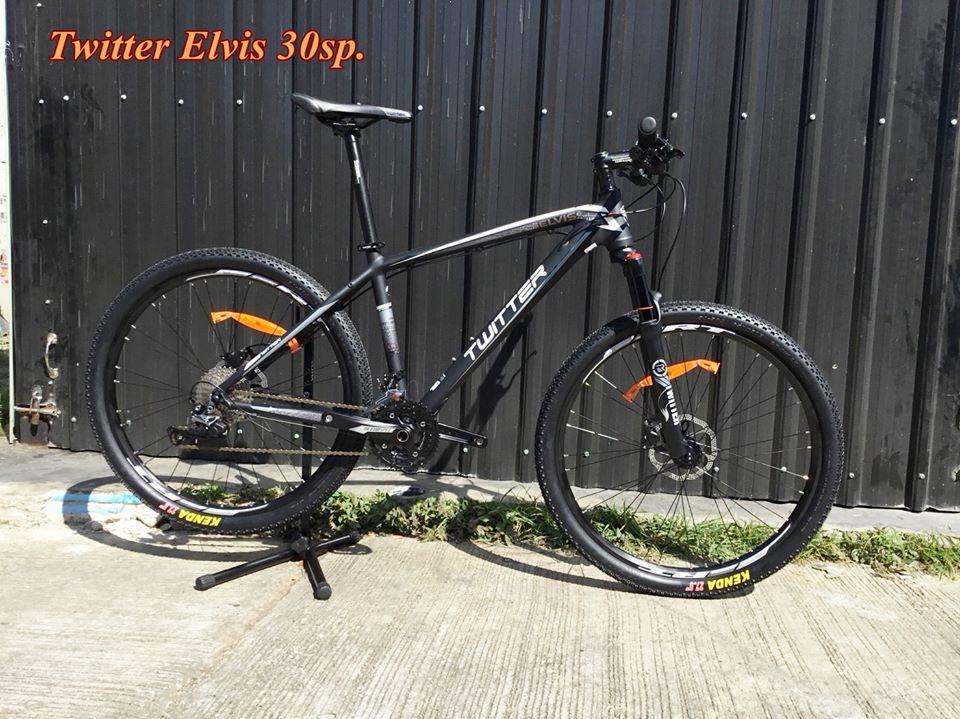 จักรยานเสือภูเขา TWITTER ELVIS 30 สปีด SLX เฟรมอลูลบรอย ซ่อนสาย 27.5 ปี2018