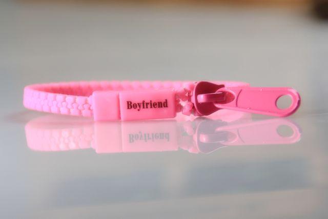 กำไลซิป Boyfriend