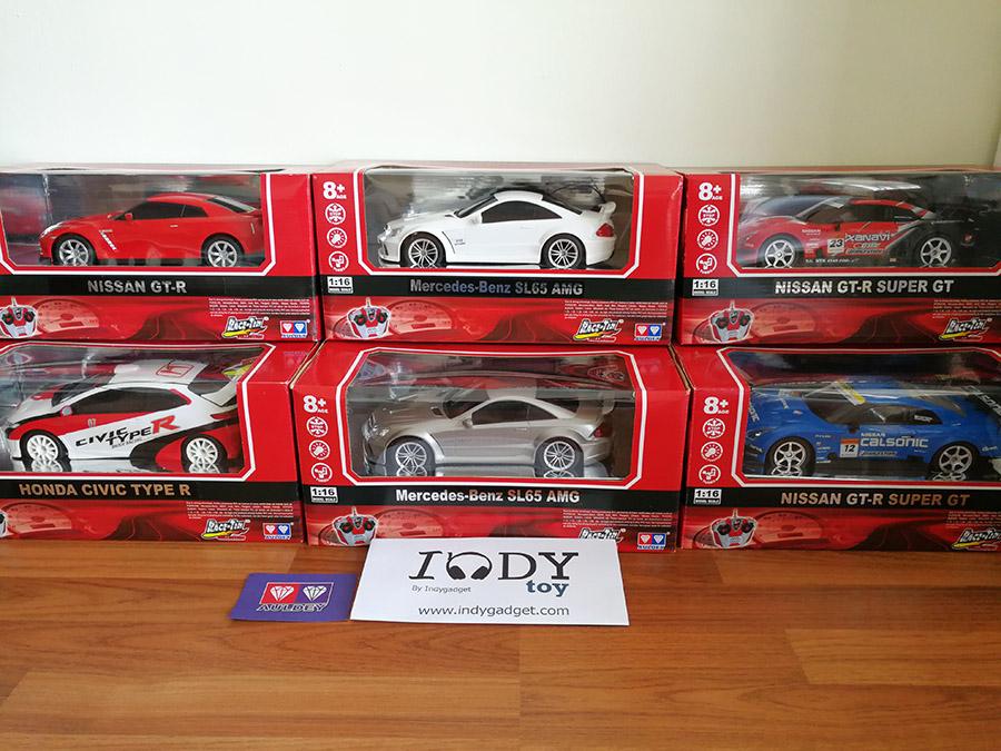 รถบังคับตราเพชร Collection Supercar Series ขนาด 1:16 มีรถให้เลือกหลายรุ่น Civic Gtr Benz รถลิขสิทธิ์ของแท้จากแบรน Auldey