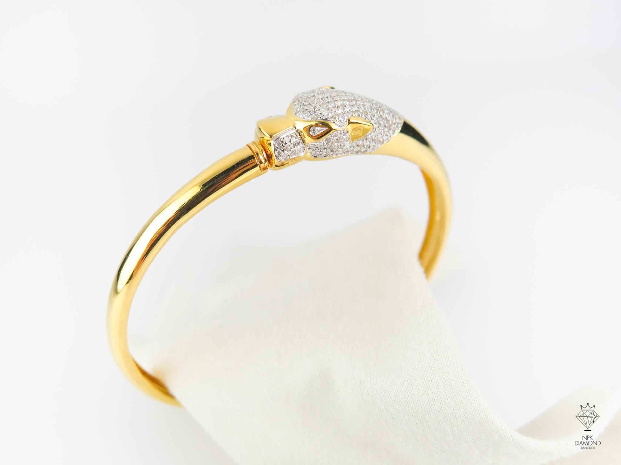 กำไลเสือ Cartier