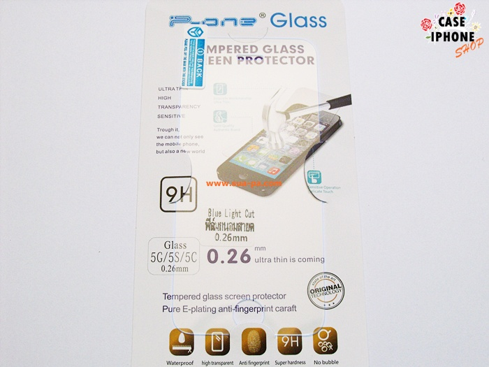 ฟิล์มกระจกถนอมสายตา Iphone 5, 5s (Blue Light Cut)
