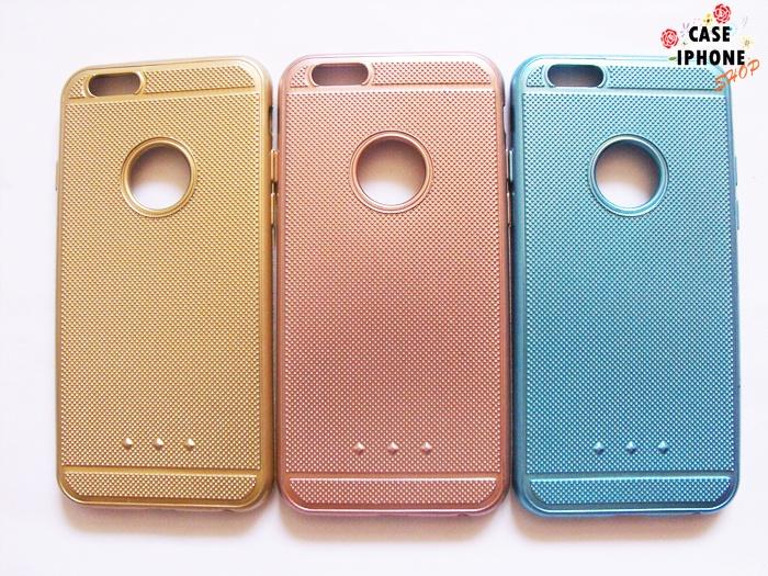 เคสนิ่มสลิมสีโครเมียมแบบด้าน ไอโฟน 6/6s plus 5.5 นิ้ว