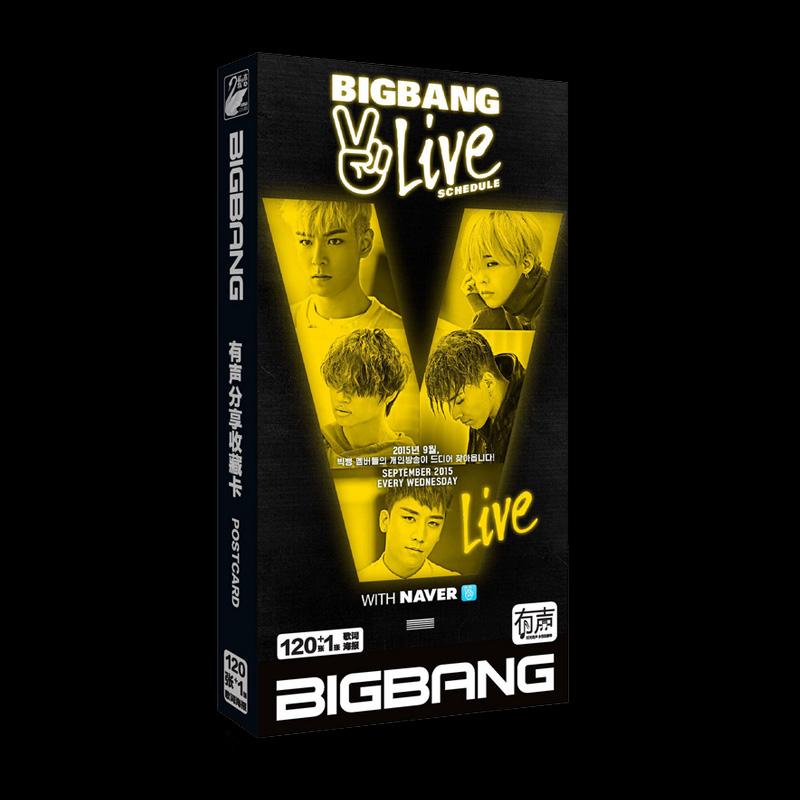 โปสการ์ด BIGBANG 2 LIVE