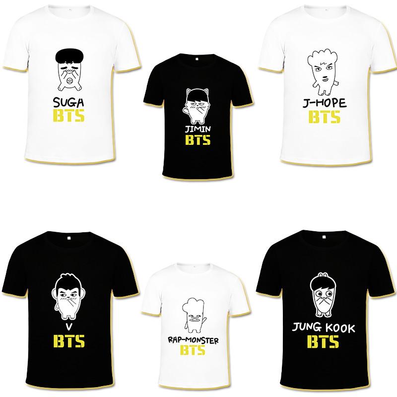 เสื้อยืด (T-Shirt) BTS 2016