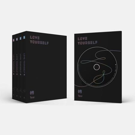 อัลบั้ม #BTS - Album Vol.3 [LOVE YOURSELF 轉 'Tear'] : Y.O.U.R SET 4 Ver.