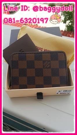 Louis Vuitton Wallet กระเป๋าสตางค์หลุยส์ **เกรดAAA** เลือกลายด้านในค่ะ