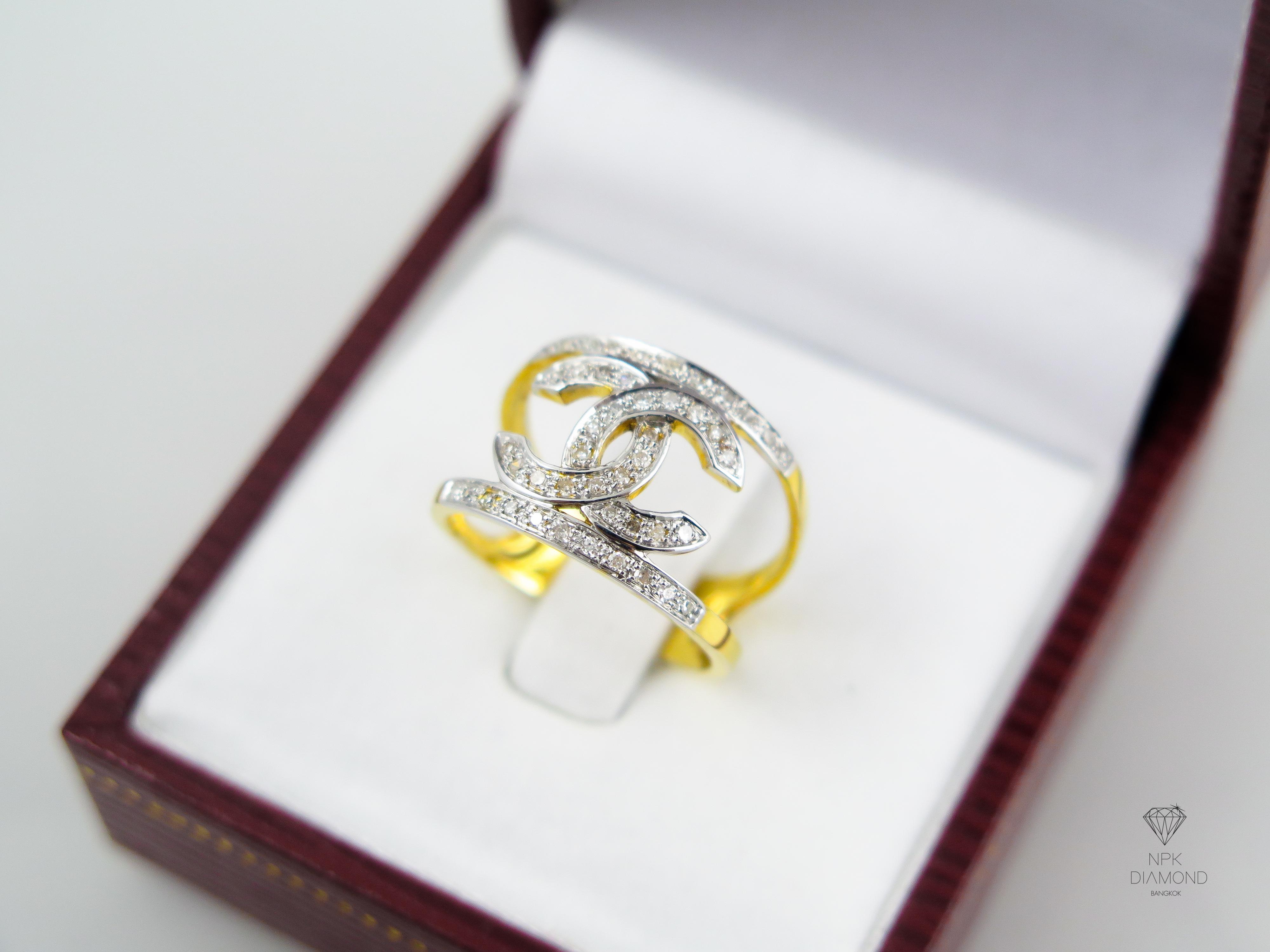 แหวน Chanel 2st