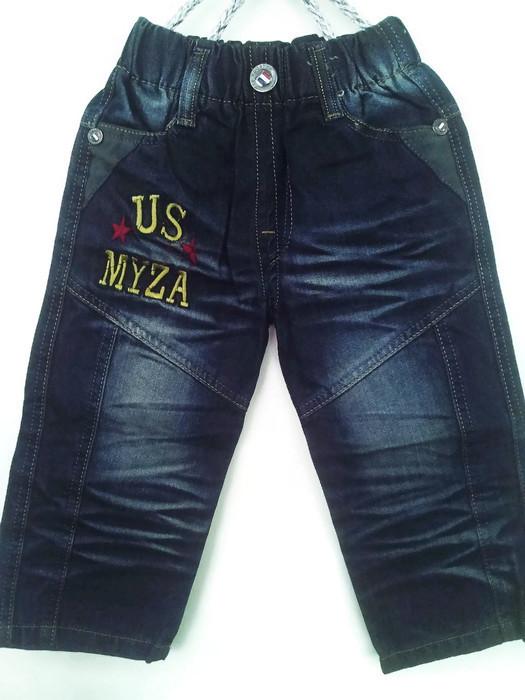 J1133 กางเกงยีนส์เด็กชาย ดีไซส์ลายปักเท่ห์ทั้งด้านหน้า-หลัง เอวยางยืด Size 4-6 ขวบ ขายปลีกในราคาส่งให้เลยจ้า