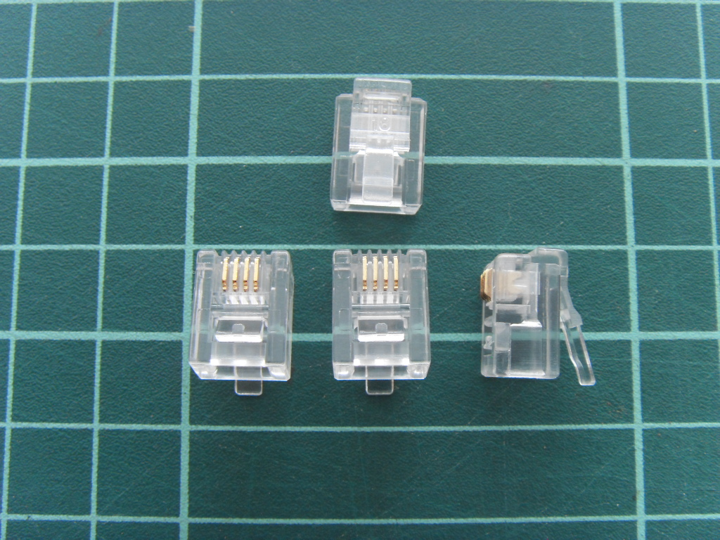 Modular Plug RJ-11 6P4C