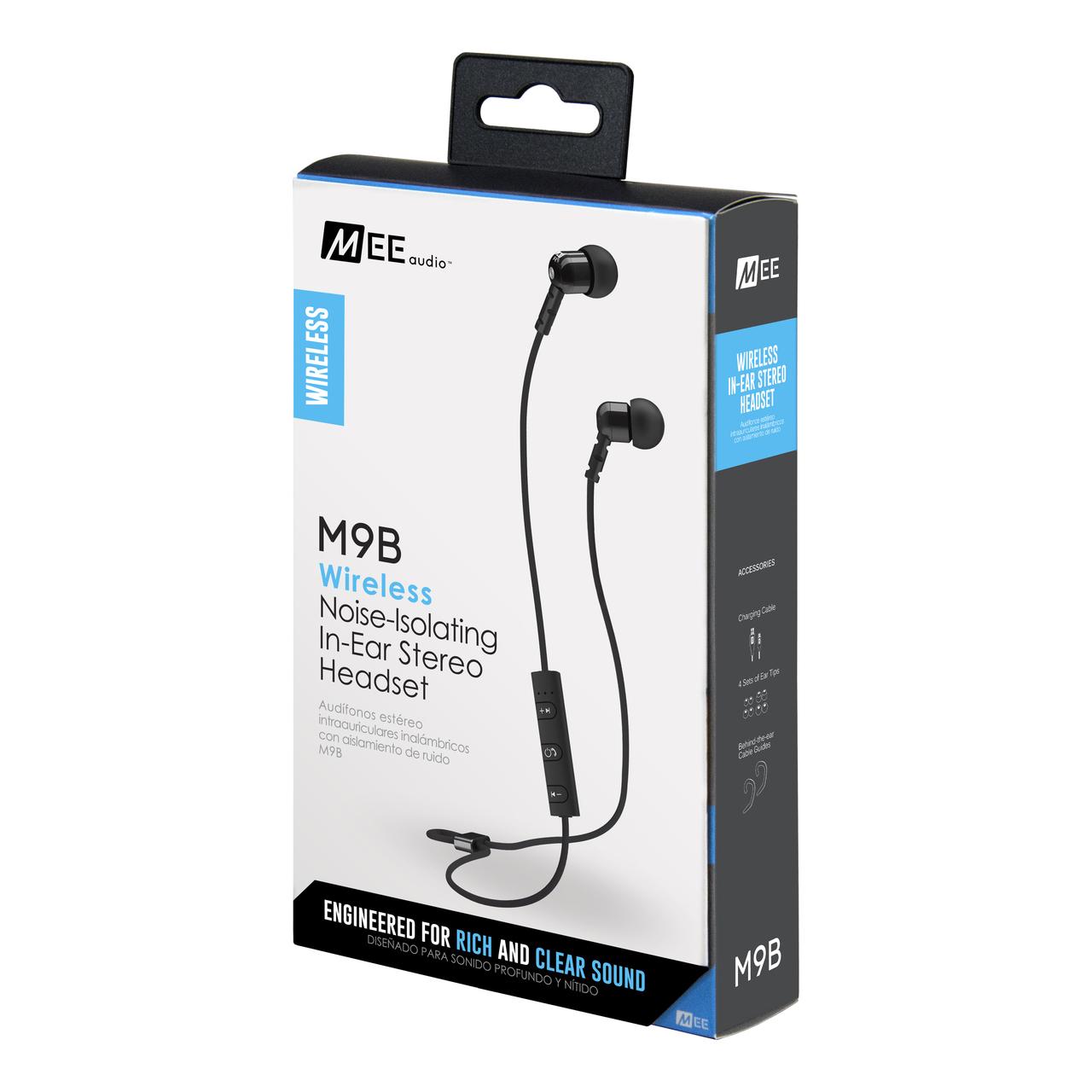 หูฟัง MEElectronics (Mee Audio) M9B Bluetooth Inear บลูทูธ ไร้สาย เบสหนักแน่น ใส่สบาย รายละเอียดเสียงสุดยอด