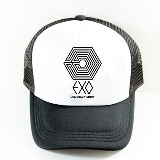 หมวก EXO COMEBACK SHOW LOGO