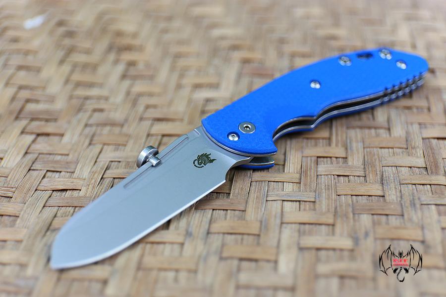 RHK XM Slippy Sheepsfoot Stonewash Blue G10