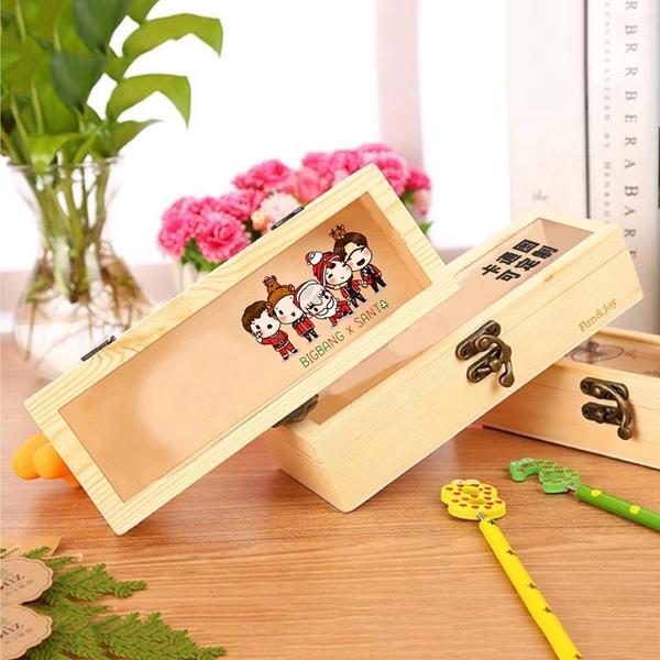 กล่องดินสอไม้ #Bigbang