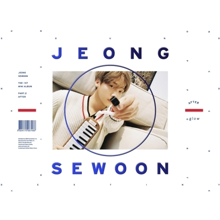 อัลบั้ม #Jung Se Woon - Mini Album Vol.1 Part.2 [AFTER] GLOW VER.