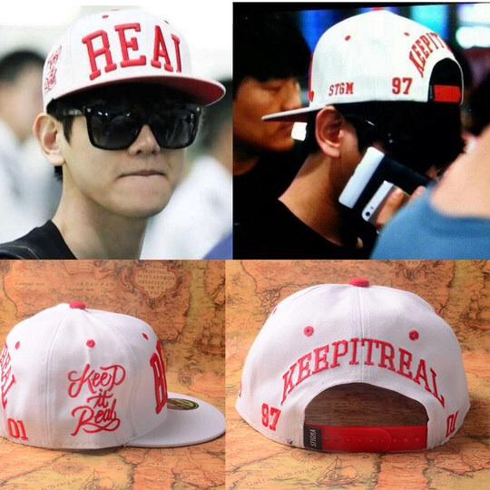 หมวกแฟชั่น EXO REAL BAEKHYUN