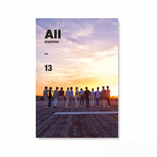 อัลบั้ม #Seventeen - Mini Album Vol.4 [Al1] (Ver.3 All [13])