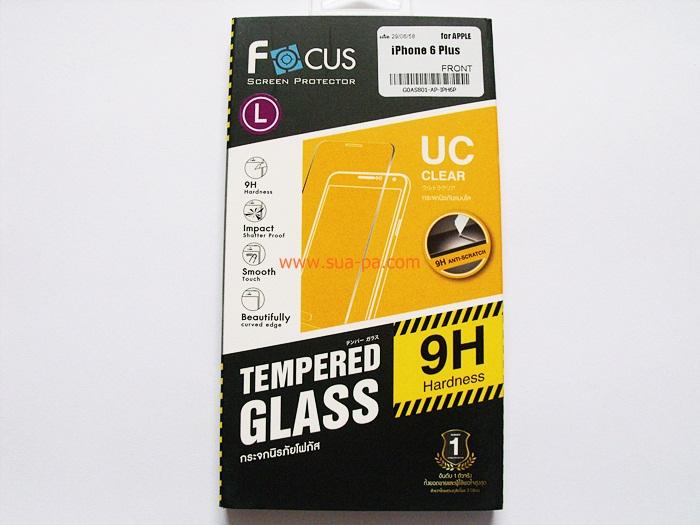 ฟิล์มกระจกนิรภัย โฟกัส (Focus) Iphone 6 Plus 5.5