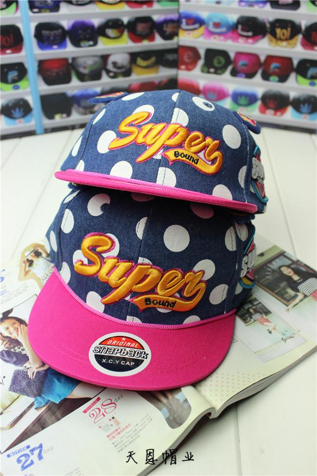 หมวก SUPER ลายจุด