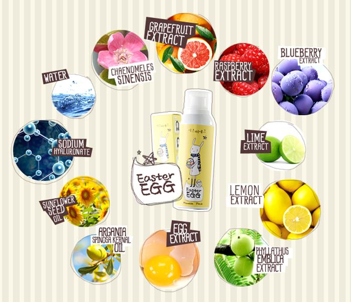 Easter Egg Mousse Pack มูสมาร์คหน้านวัตกรรมใหม่ของวงการเครื่องสำอาง ที่กำลังเป็นที่นิยมอย่างมากทั้งประเทศญี่ปุ่นและเกาหลี