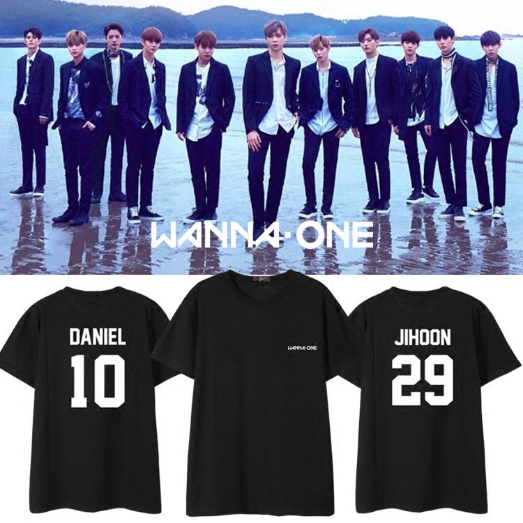 เสื้อยืด (T-Shirt) WANNA ONE (ชื่อเมมเบอร์)