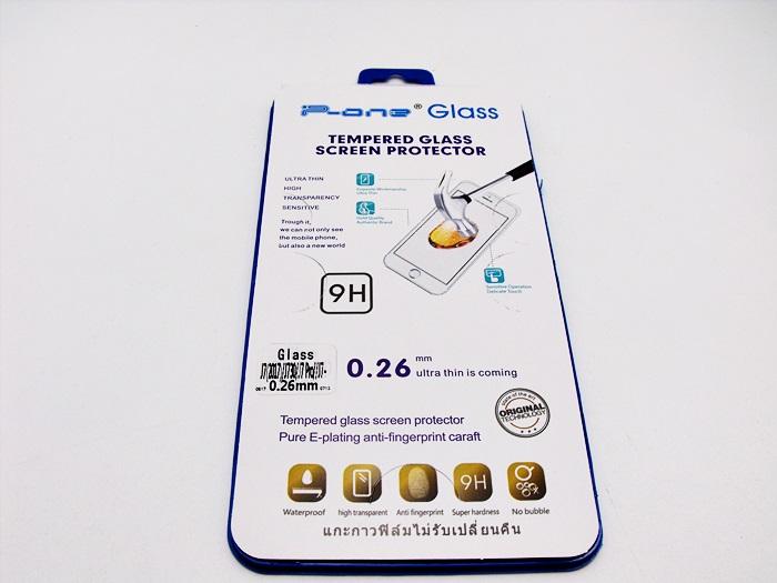ฟิล์มกระจก Samsung (J7 Plus) (J7+) ไม่เต็มจอ